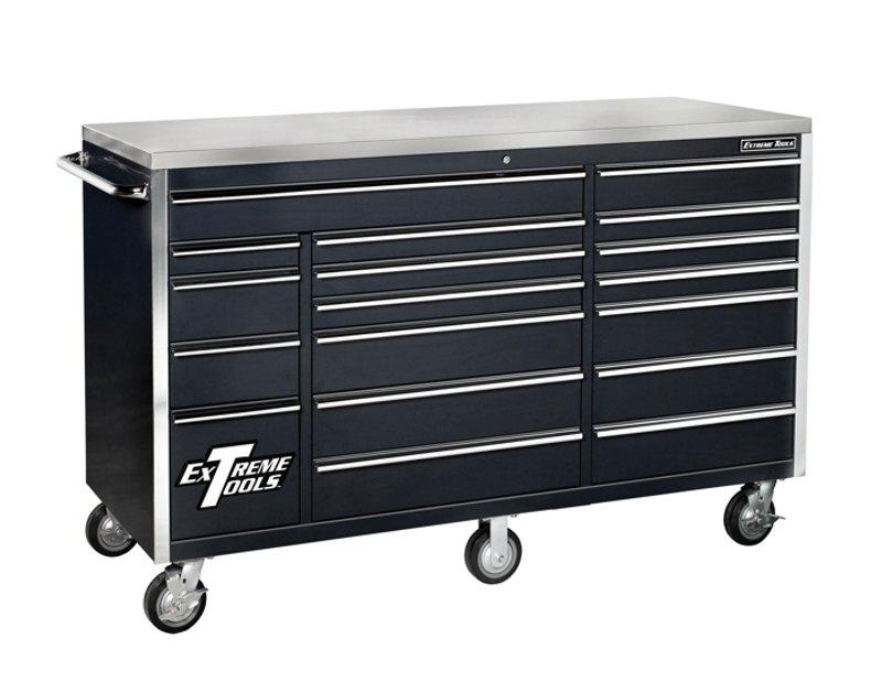 "Extreme Tools 72"" 18 Drawer Roller Tool Cabinet – EX7218RC"