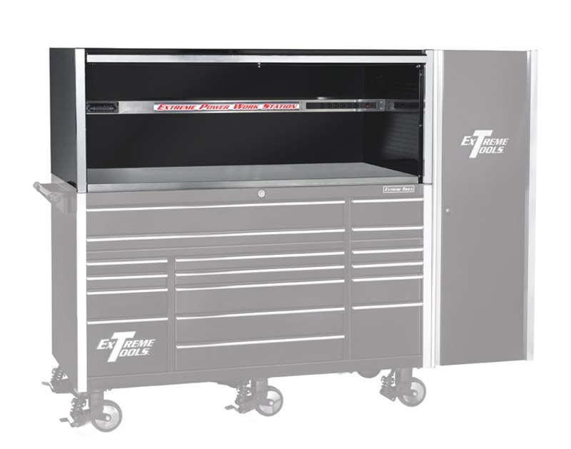 "Extreme Tools 72"" Professional Triple Bank Hutch - EX7201HC"