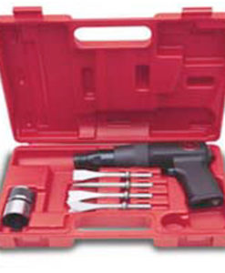Chicago Pneumatic Low Vibration Air Hammer Kit with Chisels CP7110K