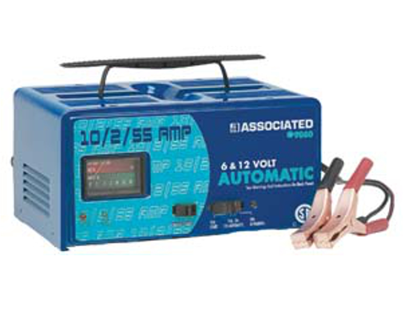 Associated 10/2/55 Amp Portable Automatic Charger AS9060