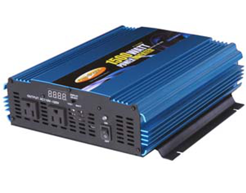 Powerbright 12 Volt 1500 Watt Power Inverter PWTPW1500-12