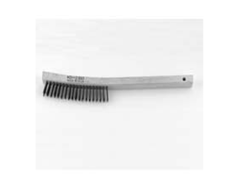 KD Tools Stainless Steel Curved Handle Scratch Brush KD2310
