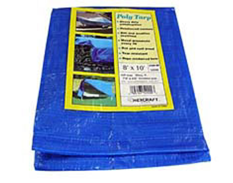 Hexcraft Blue Poly Tarpaulins 16x20 HX52013