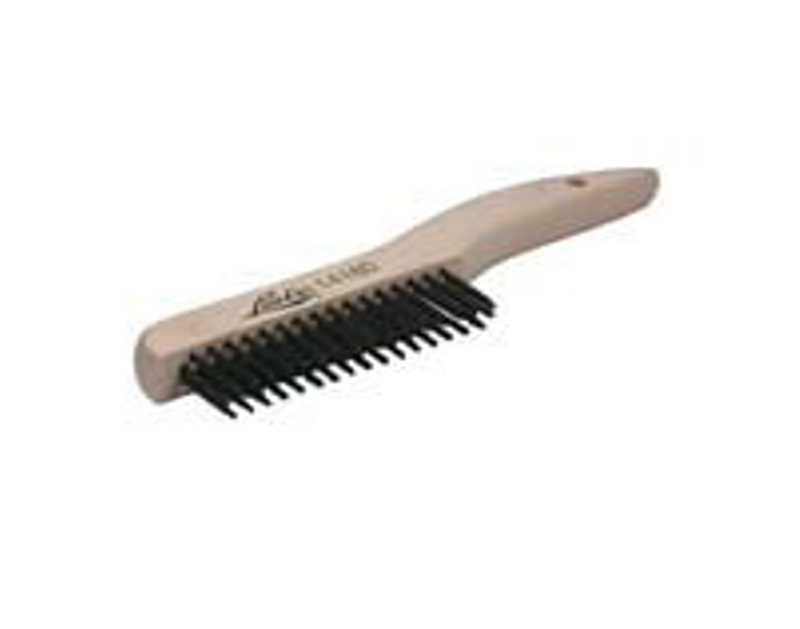 Lisle Shoe Handle Wire Scratch Brush LS14180