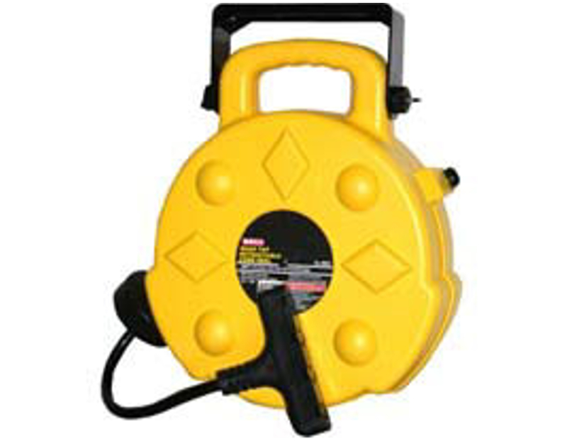 Bayco 50 Ft Pro Retractable Extension Cord Reel BY8904