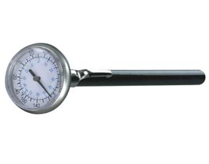 "Mastercool Analog Thermometer 1"" Face ML52220"