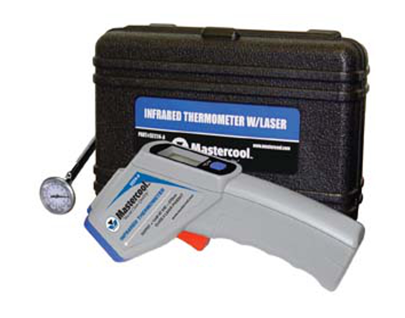 Mastercool Infra Red Temp Gun w/Pocket Therm. ML52224ASP