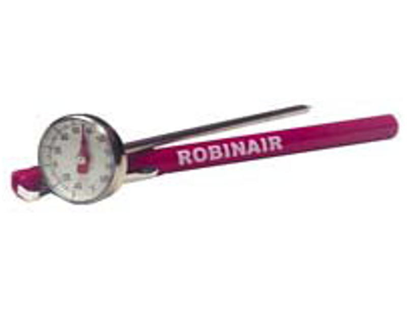 Robinair Large Face Analog Pocket Thermometer RA10945