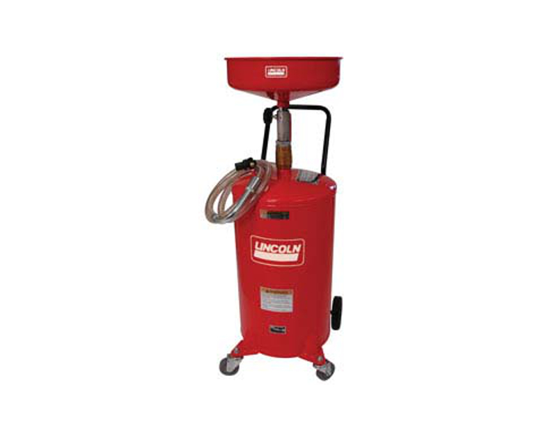 Lincoln 18 Gallon Pressurized Oil Evac System LN3601
