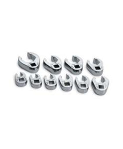 """SK Tools 10 Pc. Flare Nut Crowfoot 3/8"""" Dr. SK4508"""