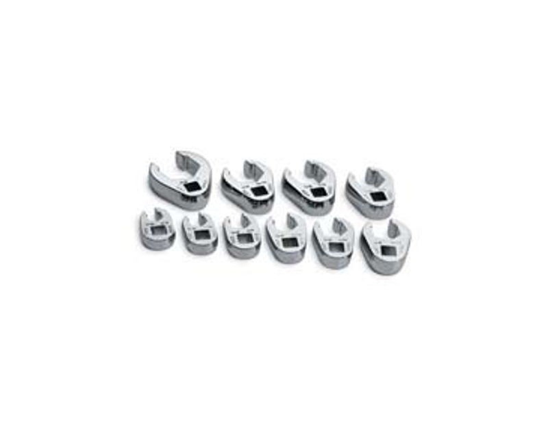 "SK Tools 10 Pc. Flare Nut Crowfoot 3/8"" Dr. SK4508"