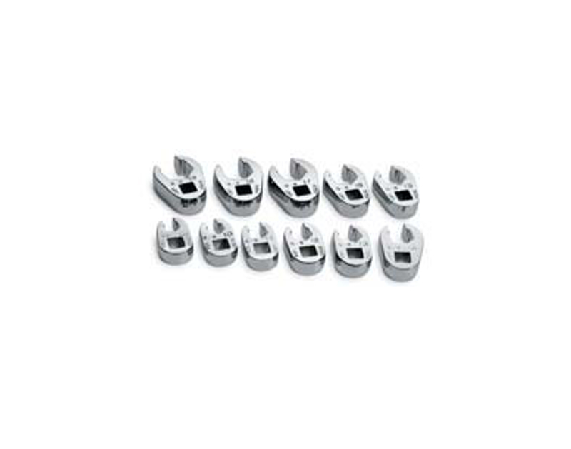 "SK Tools 11 Pc. Flare Nut Crowfoot 3/8"" Drive SK4511"