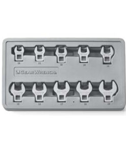 KD Tools 10 Piece Metric Crowfoot Wrench Set KD81909