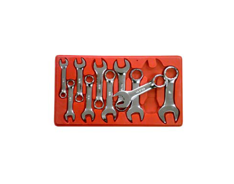 SK Tools 10 Pc  Metric Short Combination Wrenches SK86240