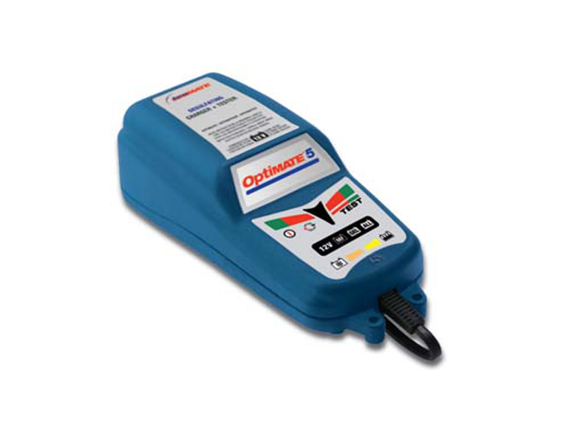 Tecmate OptiMate 5-2.5AMP Desulfating Charger & Tester TECTM-221
