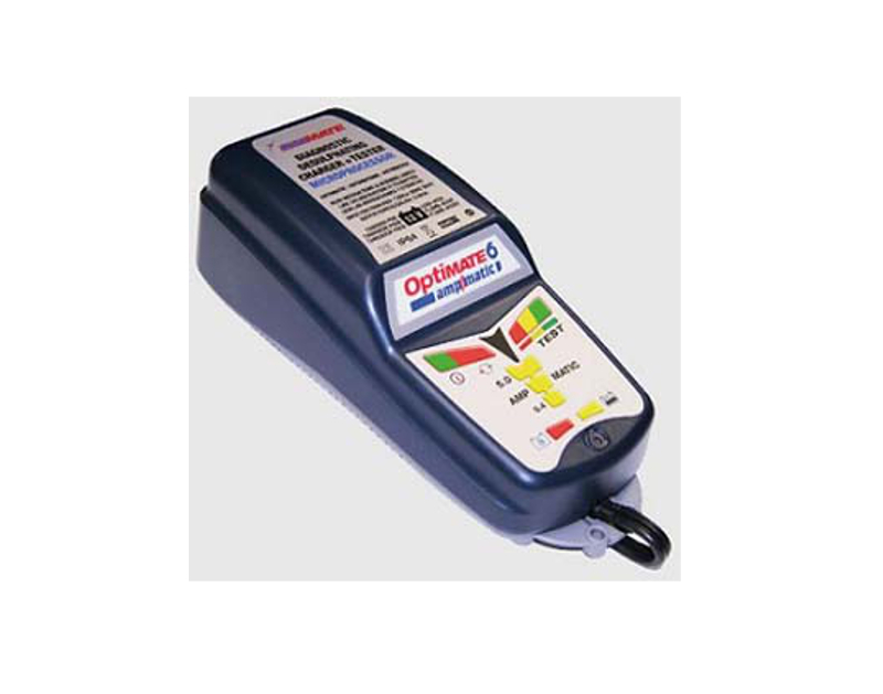 Tecmate OptiMate 6-5AMP AMPMATIC Desufating Charger & Tester TECTM-181