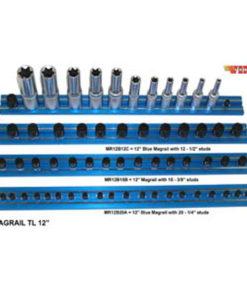 "VIM Magrail TL 12"" Long 15-3/8"" Blue Studs VMMR12B15B"