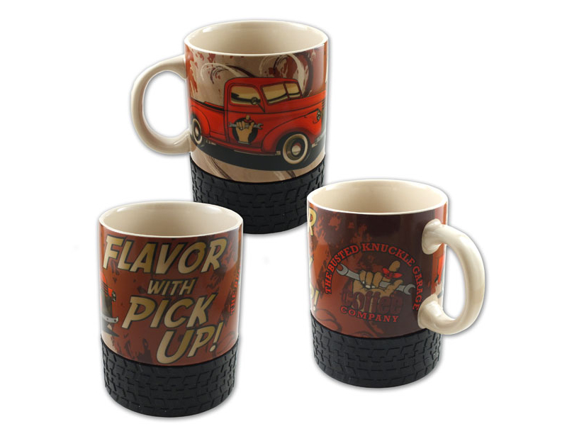 Busted Knuckle Vintage Pickup Truck Coffee Mug BKG-30