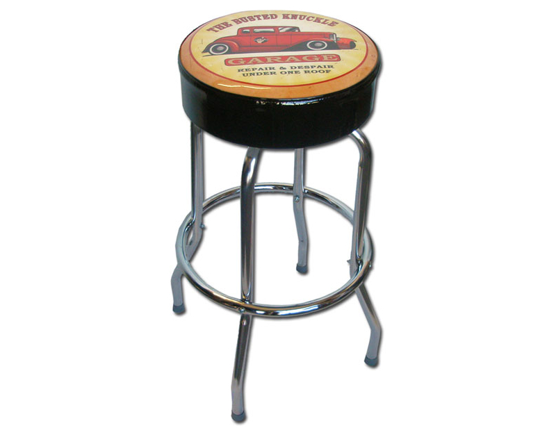 Busted Knuckle Hotrod Counter Stool BKG-86-HR