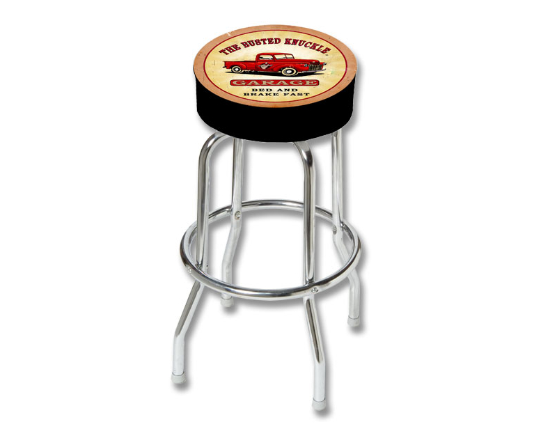 Busted Knuckle Vintage Pickup Truck Counter Stool BKG-86-TRUCK