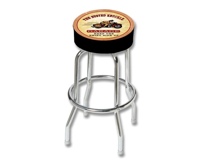 Busted Knuckle Vintage Motorcycle Counter Stool BKG-86-MC