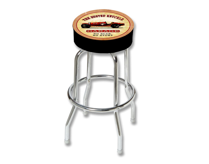 Busted Knuckle Vintage Race Car Counter Stool BKG-86-VRC