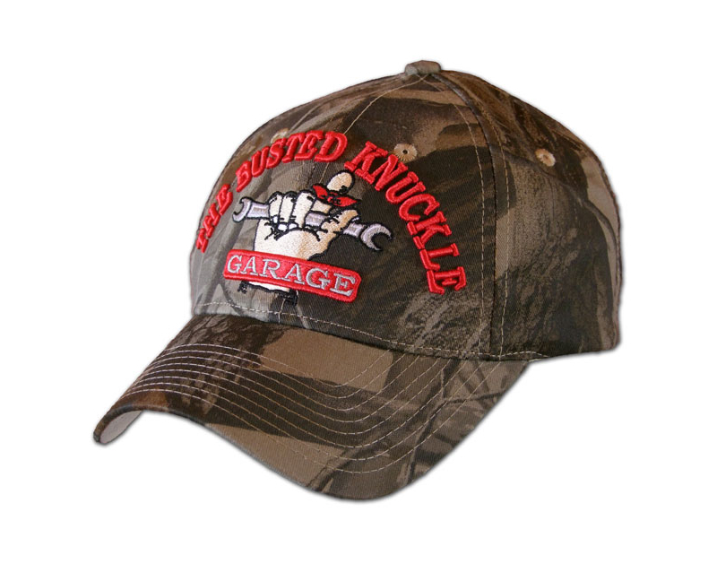 Busted Knuckle Camo Style Hat BKG-CAMO