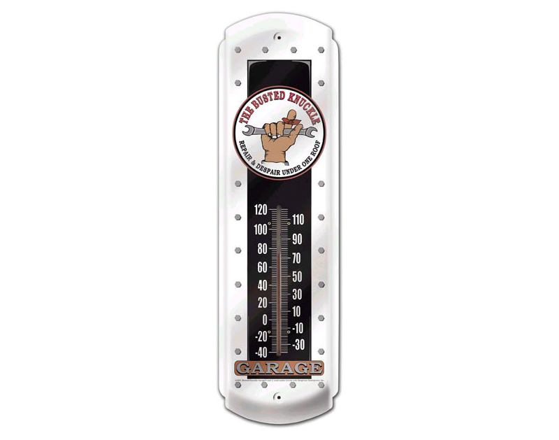 Busted Knuckle BKG Outdoor Wall Thermometer BKG-33