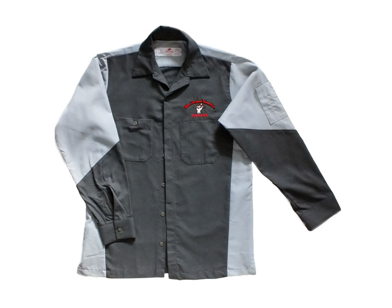 Busted Knuckle Embroidered BKG Work Shirt BKG-CREW