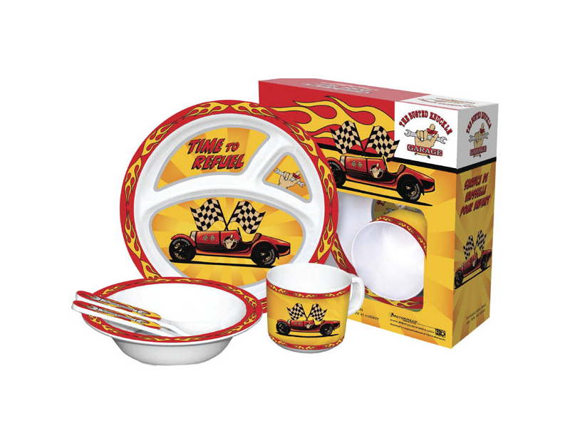 Busted Knuckle BKG Children's Tableware Set BKG-MH-8926
