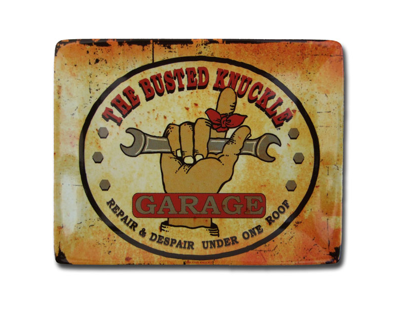 Busted Knuckle Ceramic Change Tray BKG-CTRY