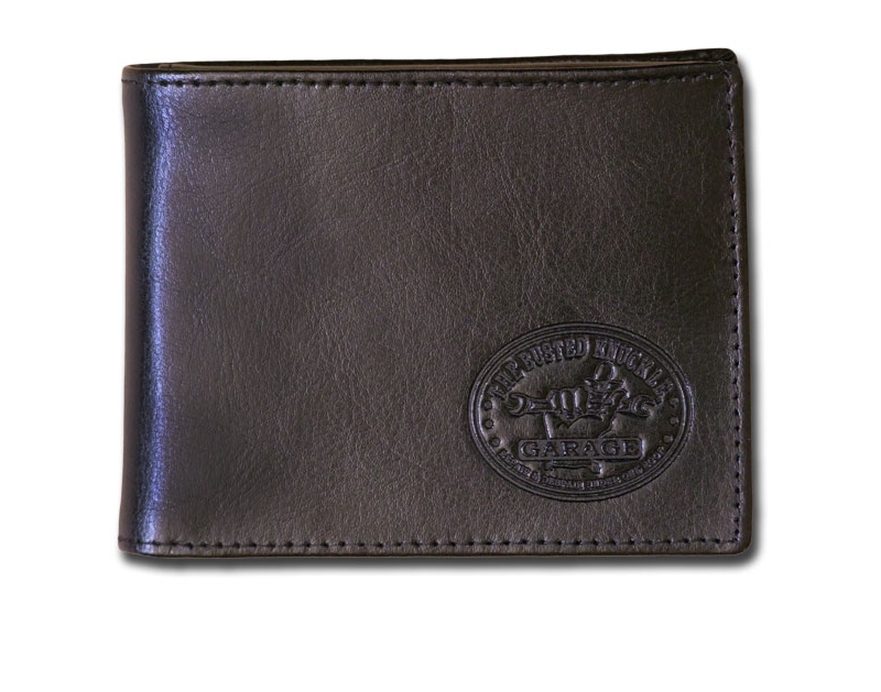 Busted Knuckle BKG Men's Genuine Leather Wallet BKG-MH-1544