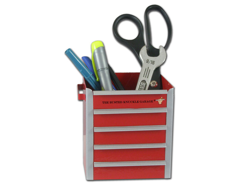 Busted Knuckle Miniature Toolbox Pencil Cup BKG-174-PC