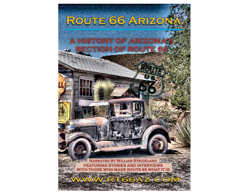Busted Knuckle Route 66 Arizona DVD BKG-NORM-DV