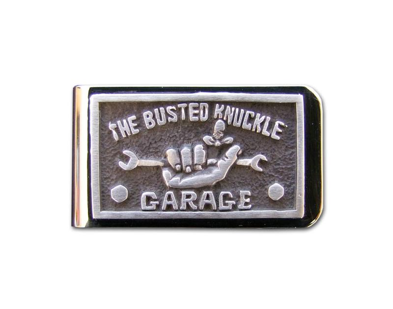 Busted Knuckle BKG Money Clip BKG-JWL-CLP