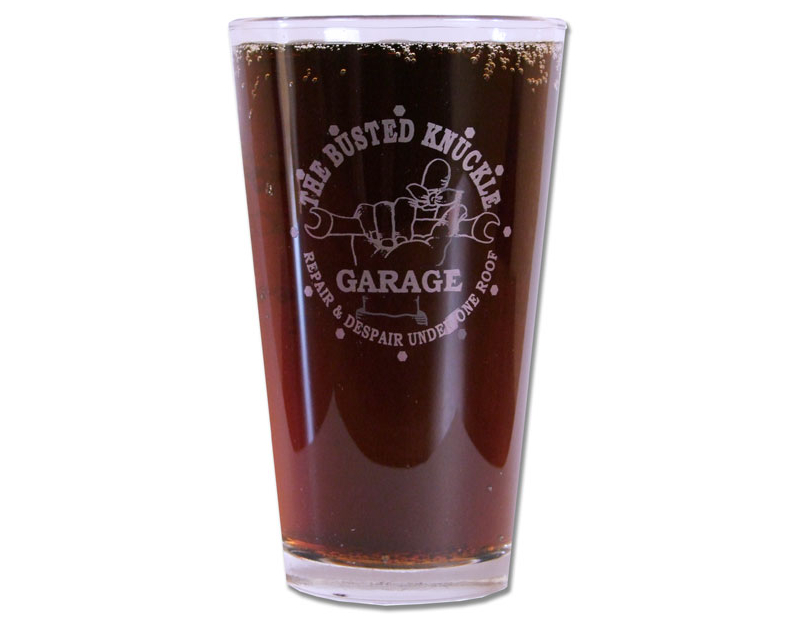 Busted Knuckle Brew Pub Glass BKG-87
