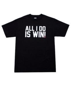 Eat Sleep Race All I Do Is Win T-Shirt (Blk)
