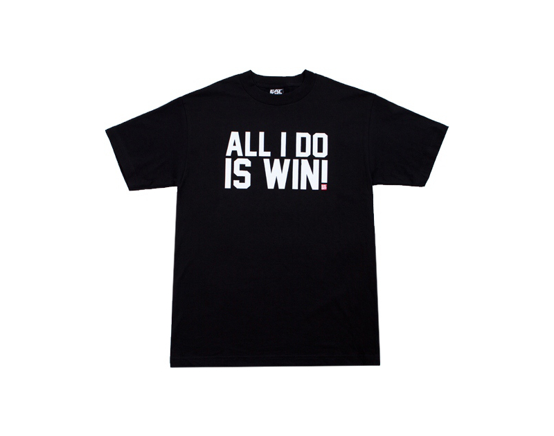 Eat Sleep Race All I Do Is Win T-Shirt (Blk)