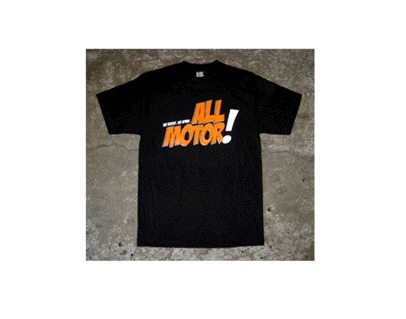 Eat Sleep Race All Motor T-Shirt (Blk)