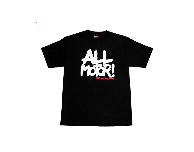 Eat Sleep Race All Motor 2 T-Shirt (Blk)