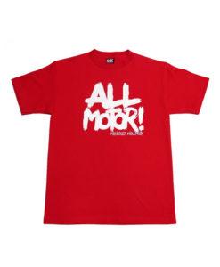 Eat Sleep Race All Motor 2 T-Shirt (Red)