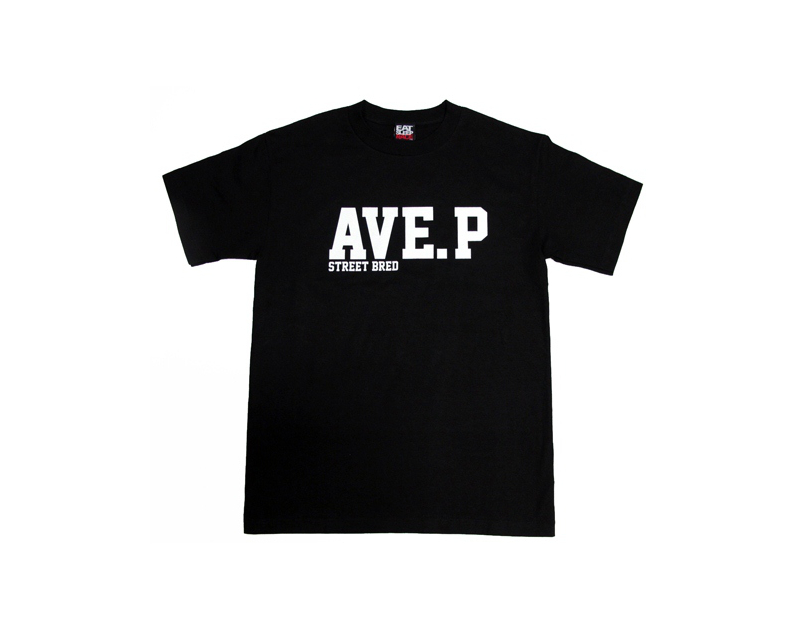 Eat Sleep Race Ave. P T-Shirt (Blk)