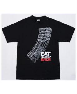 Eat Sleep Race Banana Clip T-Shirt (Blk)