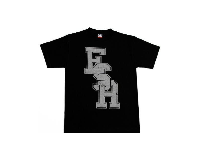 Eat Sleep Race Black Friday Varsity T-Shirt (Blk)