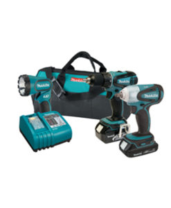 Makita 18 Volt Drill and Impact Kit MKLXT311FH