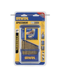 Irwin 29 Pc. Titanium Turbomax Speedbor Bit Set HA3018011