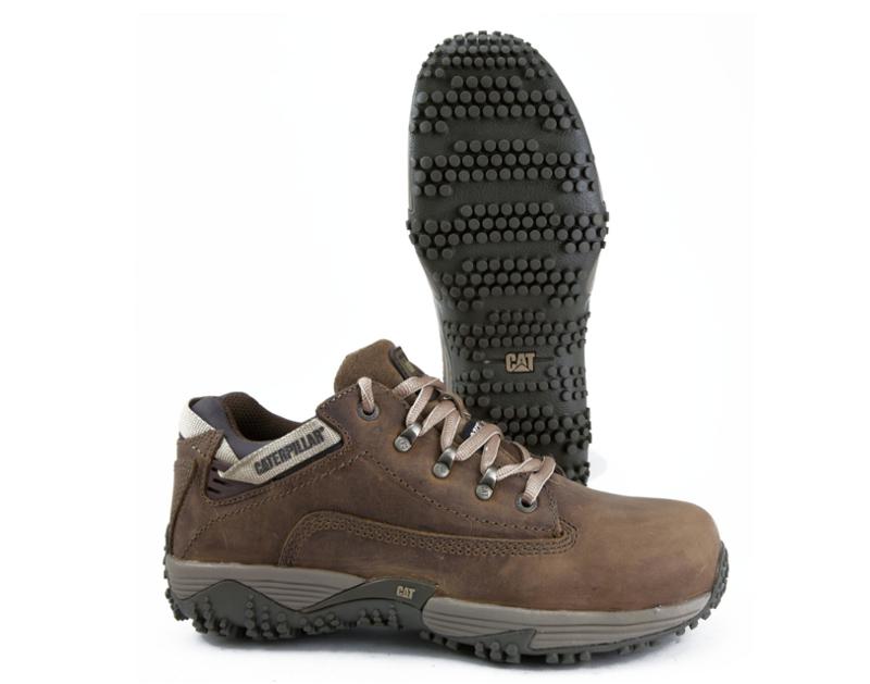 Caterpillar Corax Dark Beige Steel Toe Boot CATCORST
