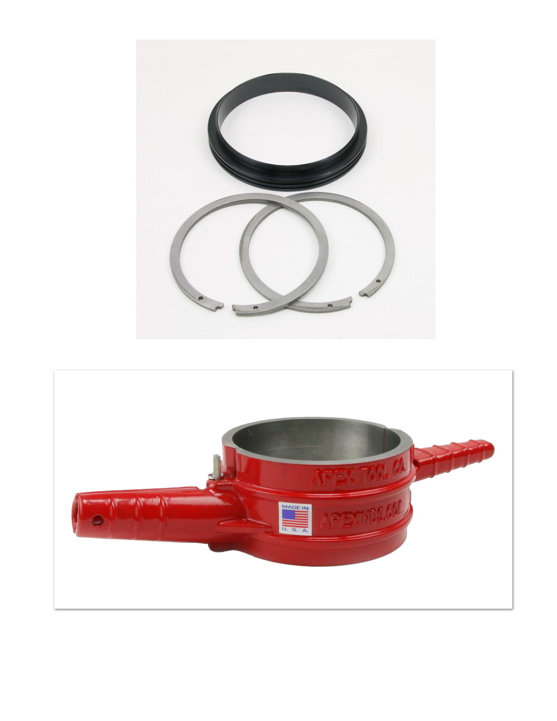 Cummins ISX Anti Polishing Ring and Piston Ring Compressor Kit – ATC5299448