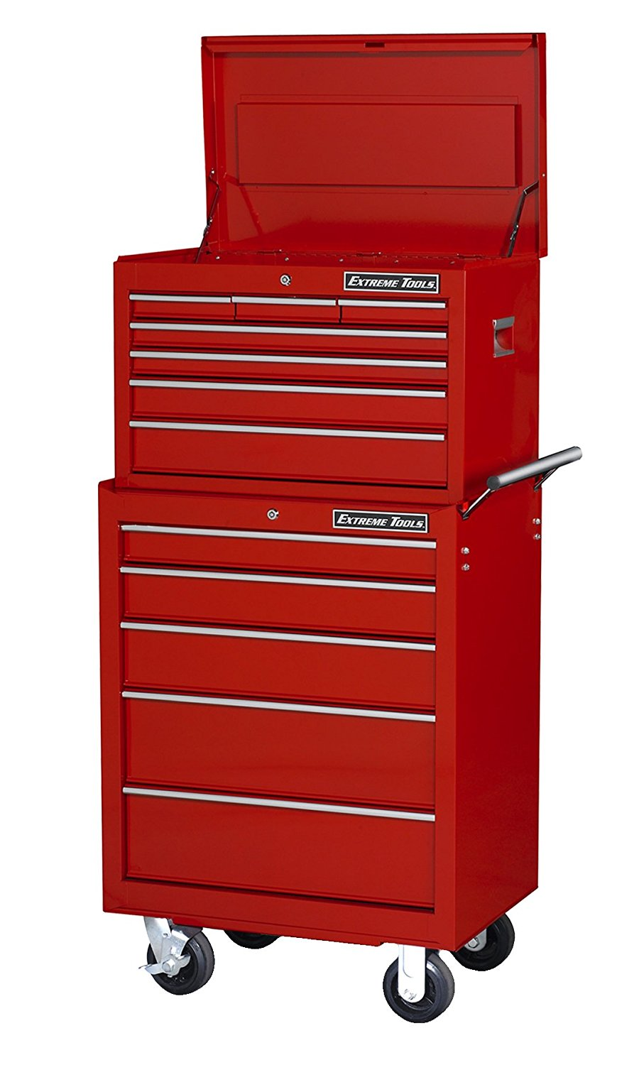 Extreme Tools 26ʺ 7 Drawer Top Chest And 5 Drawer Roller