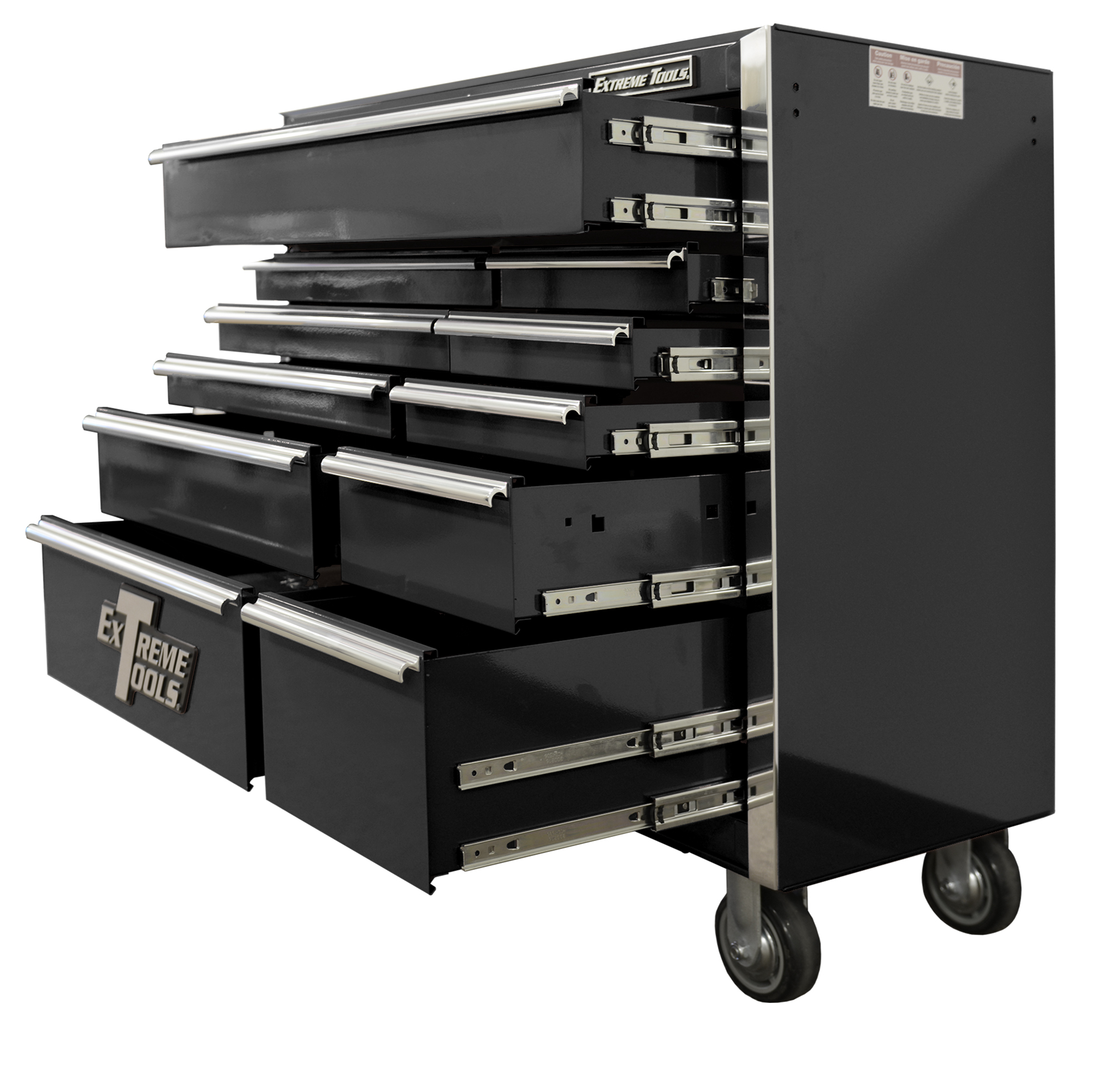 Extreme Tool Boxes 41″ 11 Drawer Roller Cabinet with Ball ...